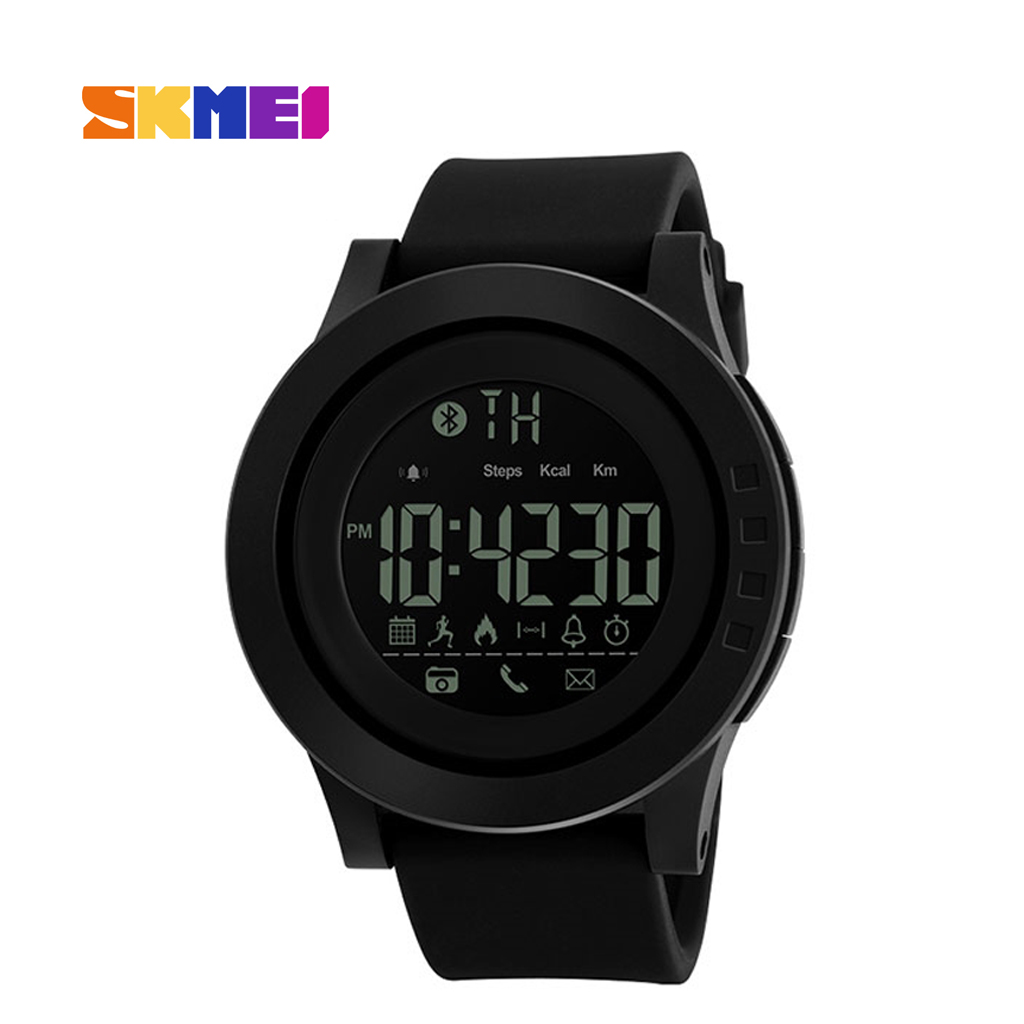 Skmei 1255bl Men Smart Wrist Watch