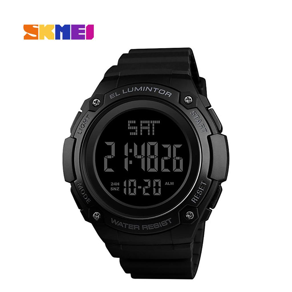 Skmei 1346bl Men Digital Wrist Watch