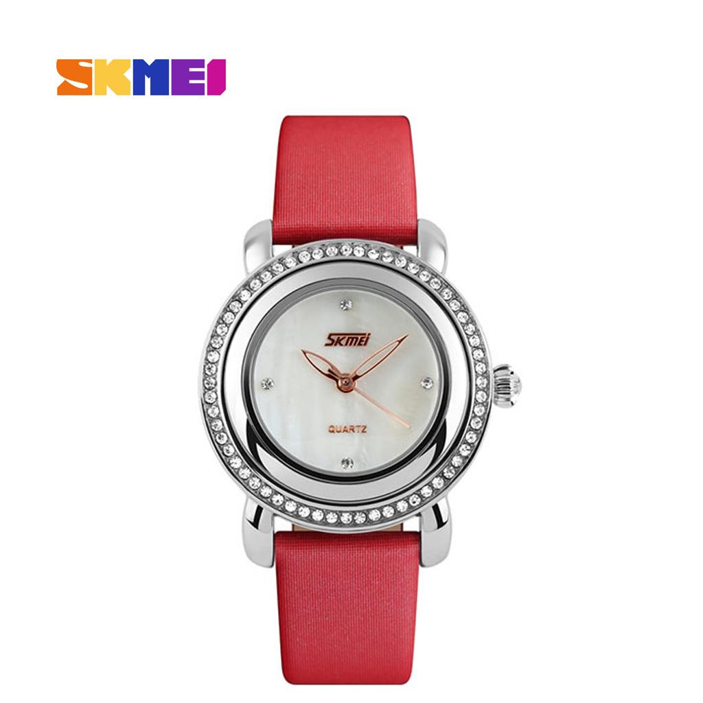 Skmei 9093rd Ladies Quartz Wrist Watch