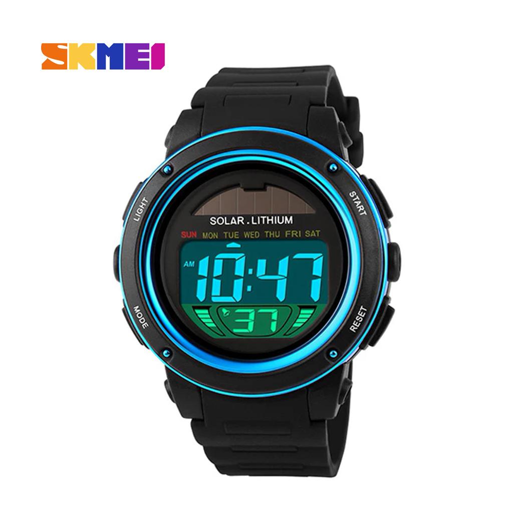 Skmei 1096bu Men Digital Wrist Watch