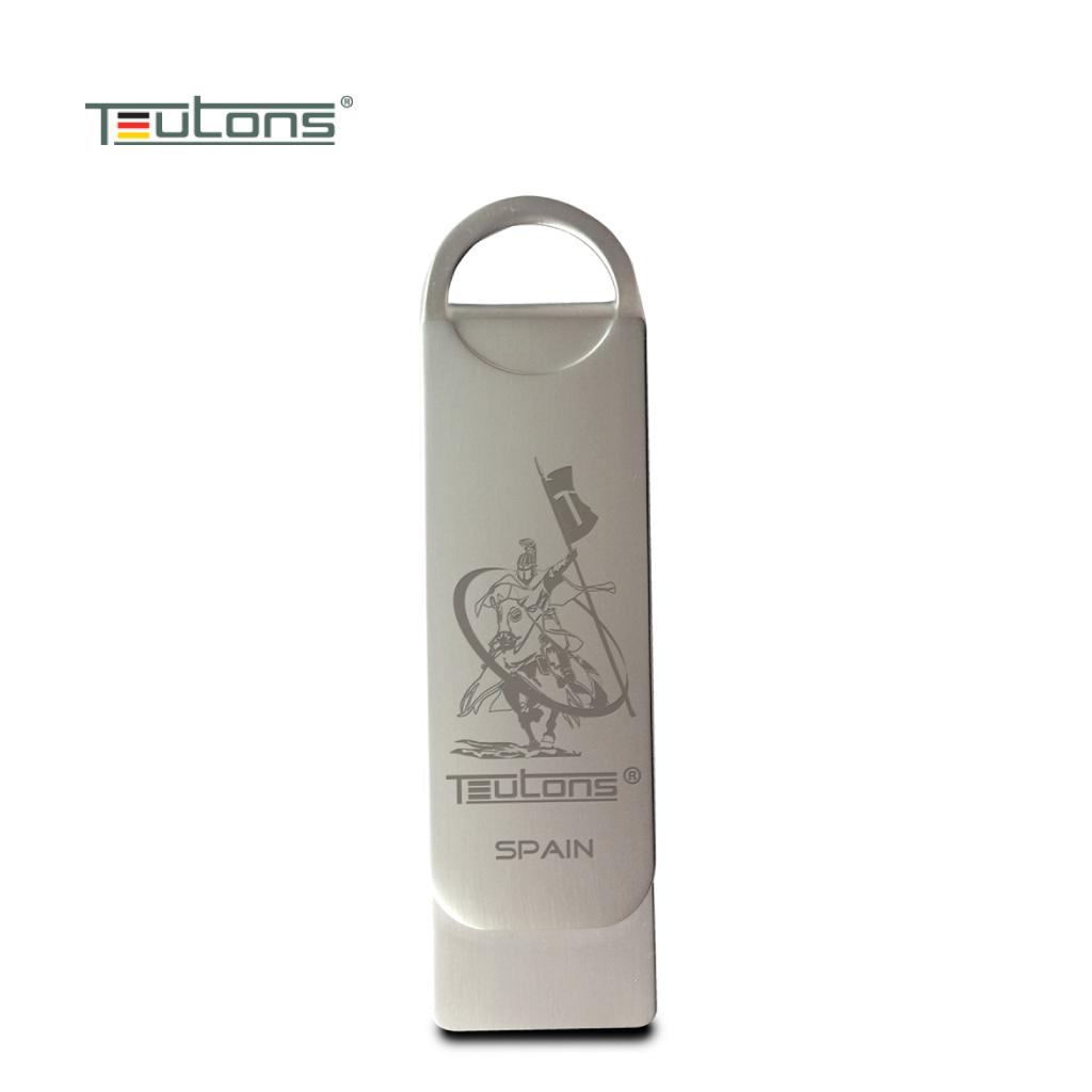 Teutons Metallic Knight 64gb Usb 3.1 Gen-1 Flash Drive