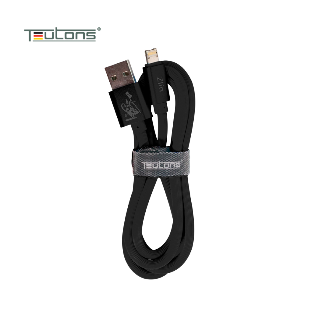 Teutons Zlin-fml124 Android And Ios Twin Tips (dual Use) - Black