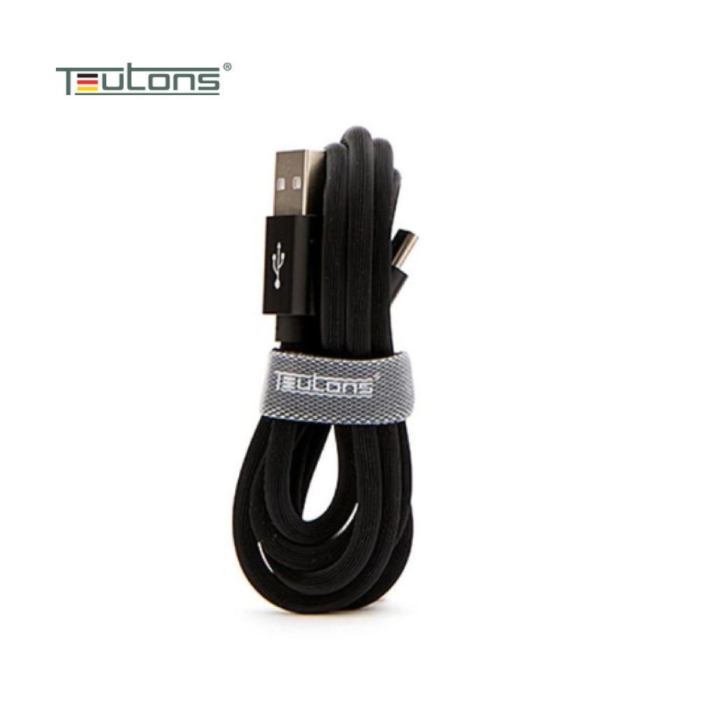 Teutons Zlin-fc124 (1.m) True Length Usb Type-c Fast Charging Cable - Black