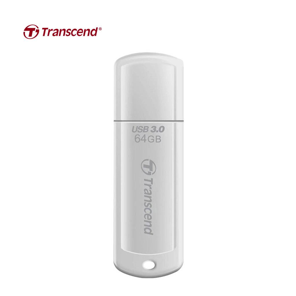 Transcend V-730 64gb Usb 3.0 Pen Drive (white)