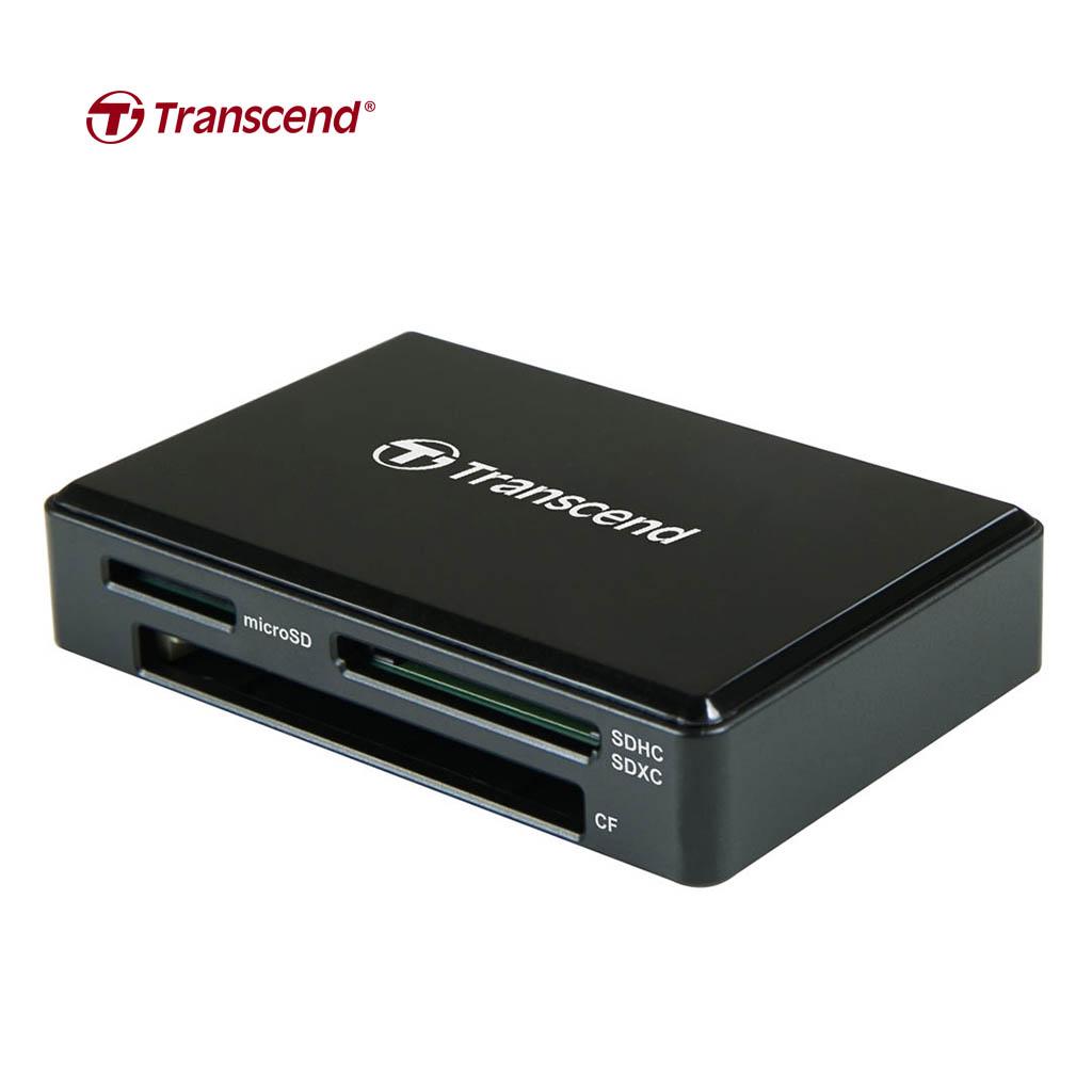 Transcend Ts-rdc8k2 Card Reader Usb 3.1 Gen-1 Type-c (black)