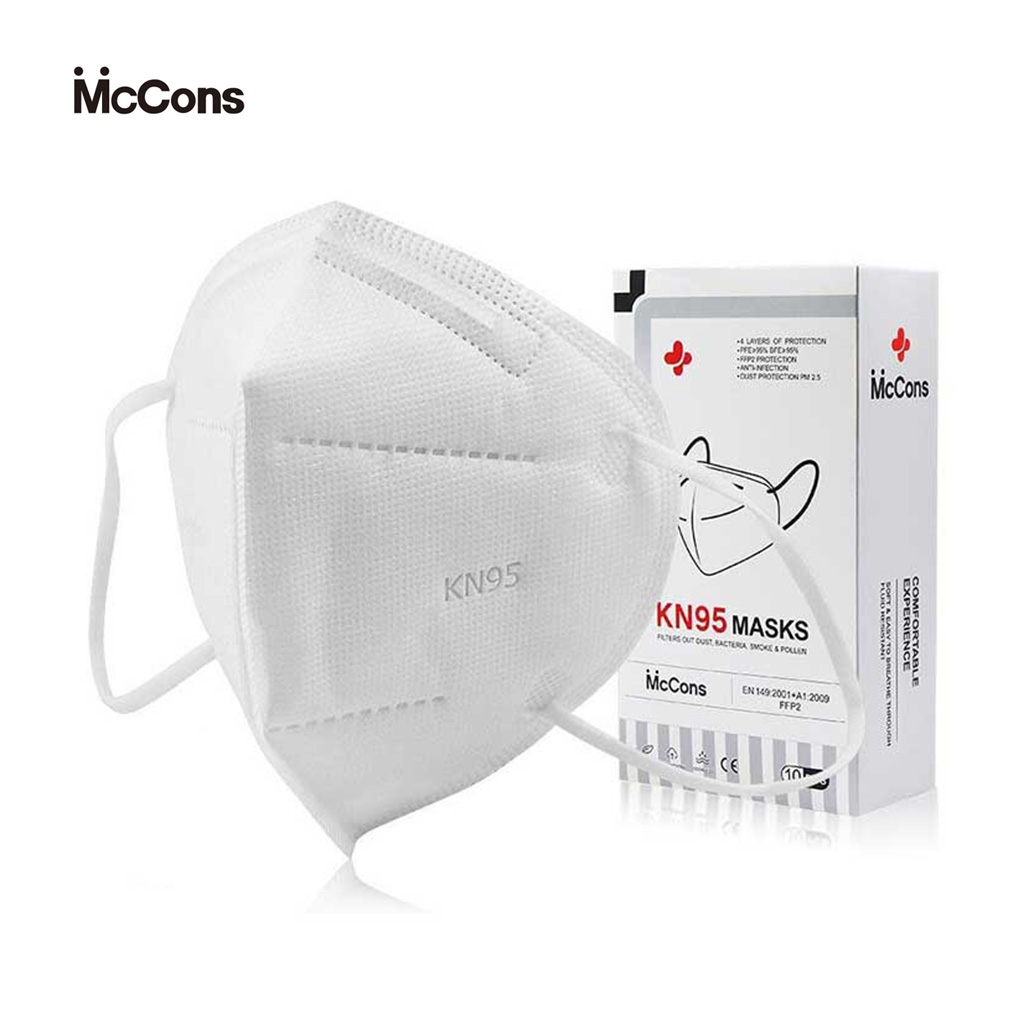 Maccons Kn95 Mask (5 Layer) Pack Of 10 Pcs