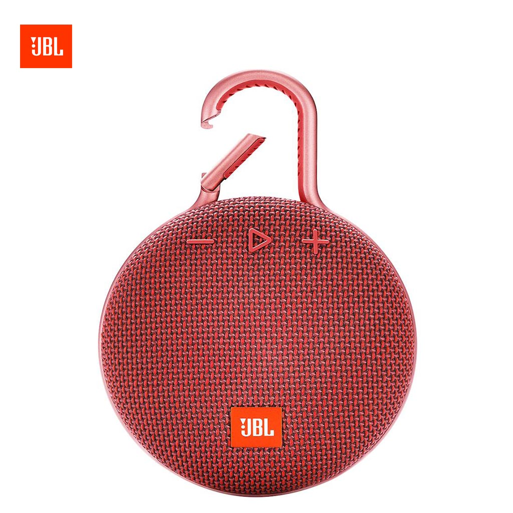 Jbl Clip 3 Portable Bluetooth Speaker (red)