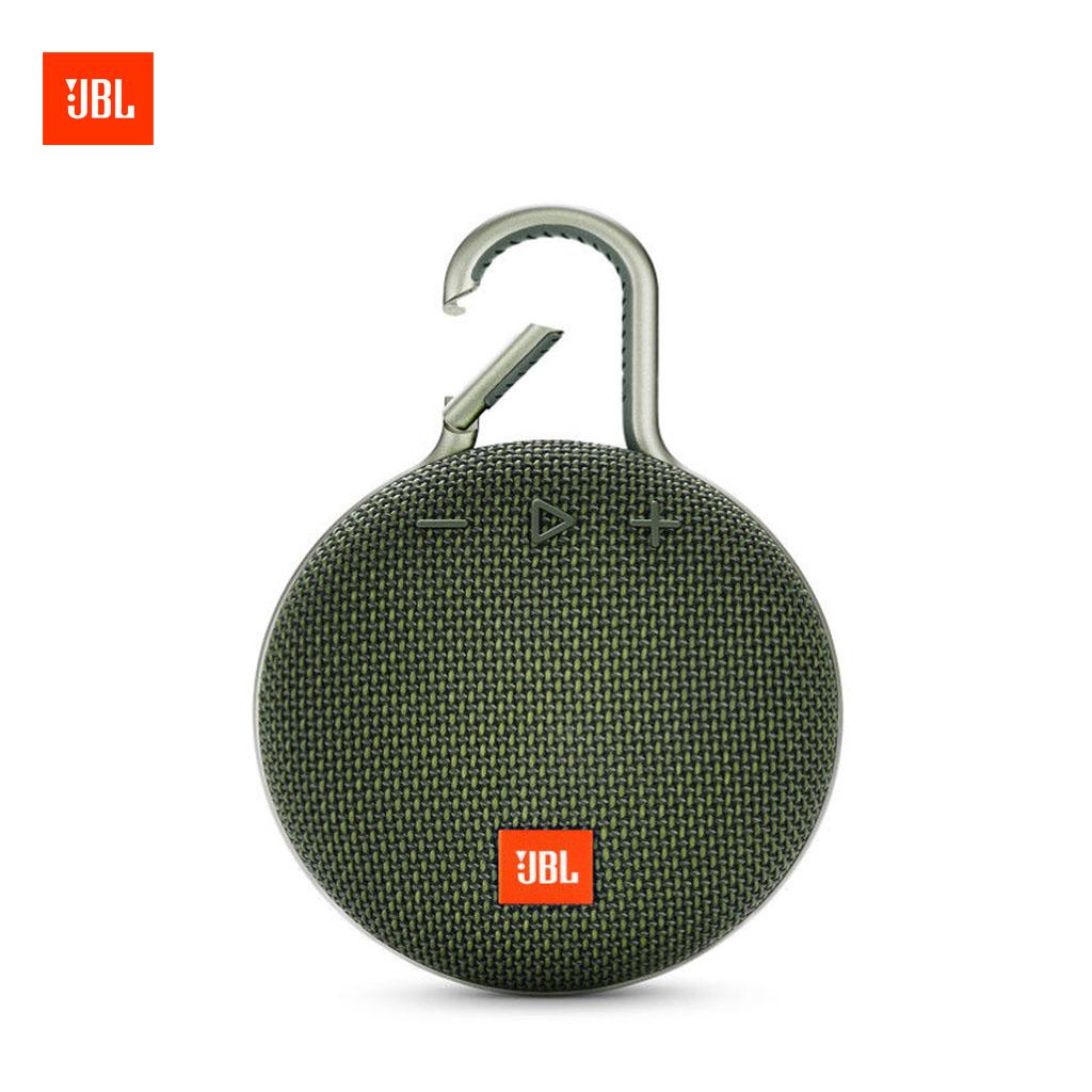Jbl Clip 3 Portable Bluetooth Speaker (green)