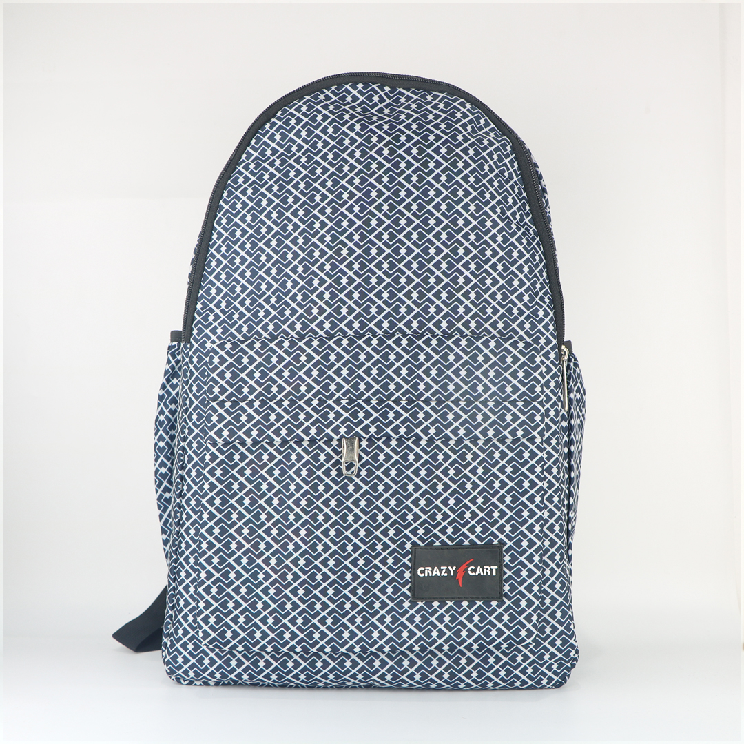 Crazy Cart Stylish Backpack (a-55blu)