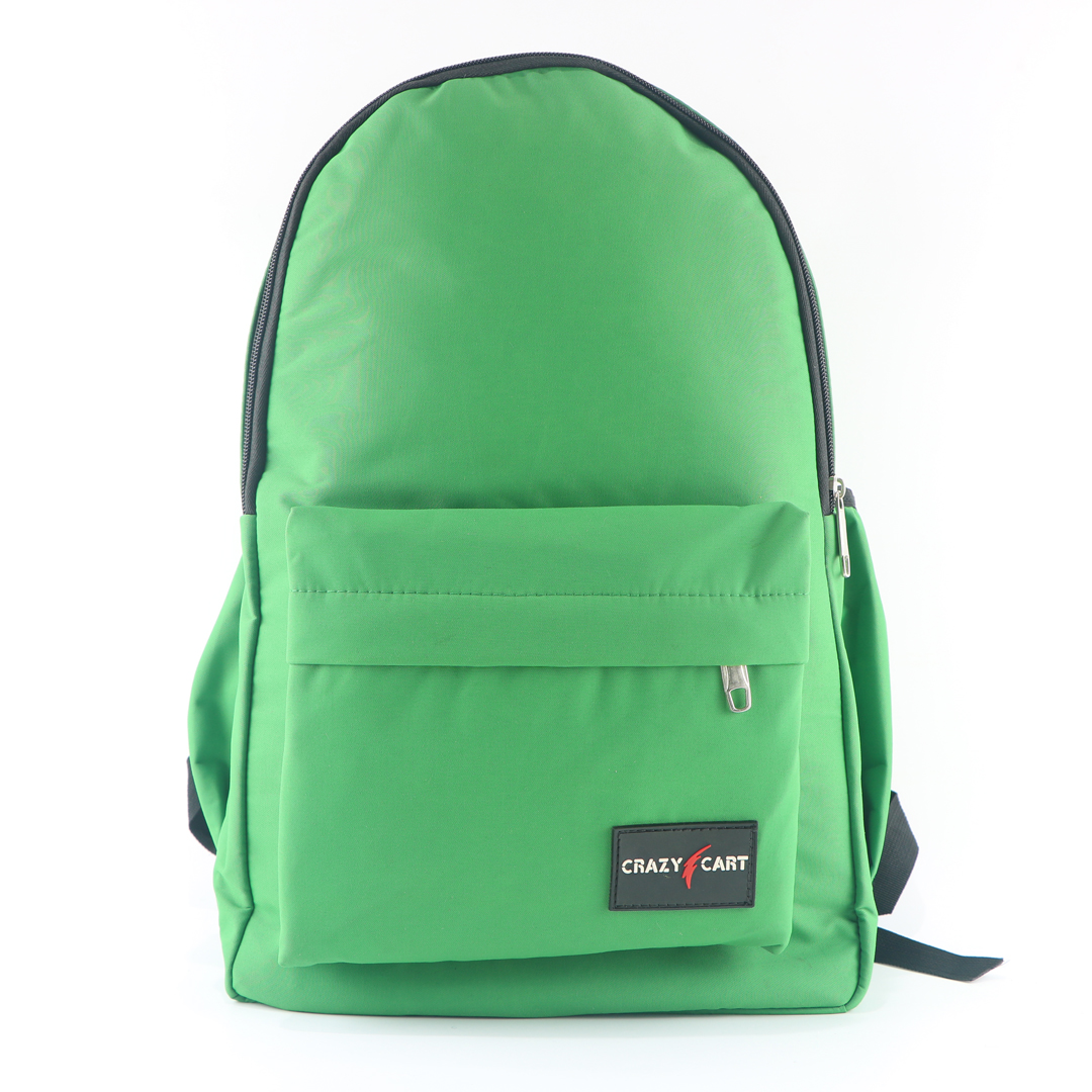 Crazy Cart Stylish Backpack (a-282g) Green