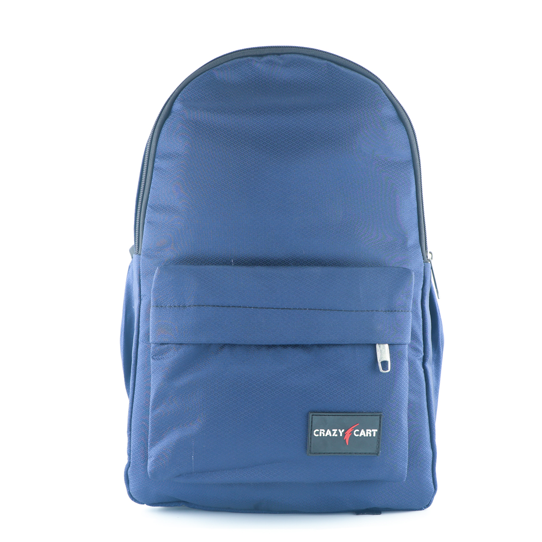 Crazy Cart Stylish Backpack (a-319blu)