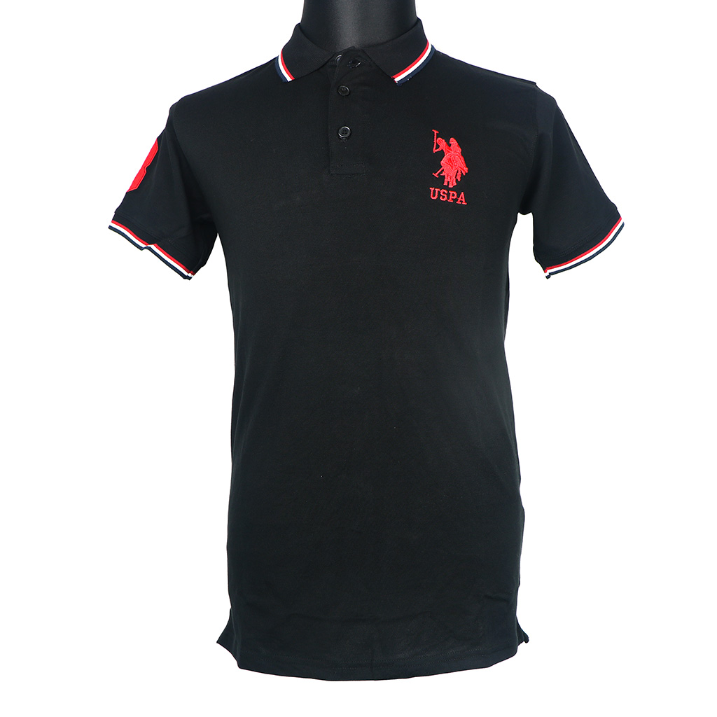 Men's Polo T-shirt - Black