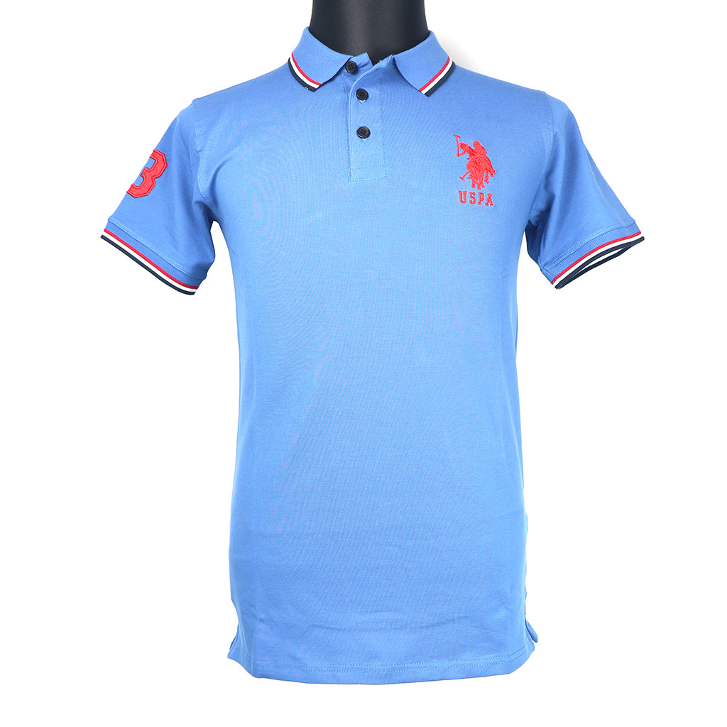 Men's Polo T-shirt - Navy Blue