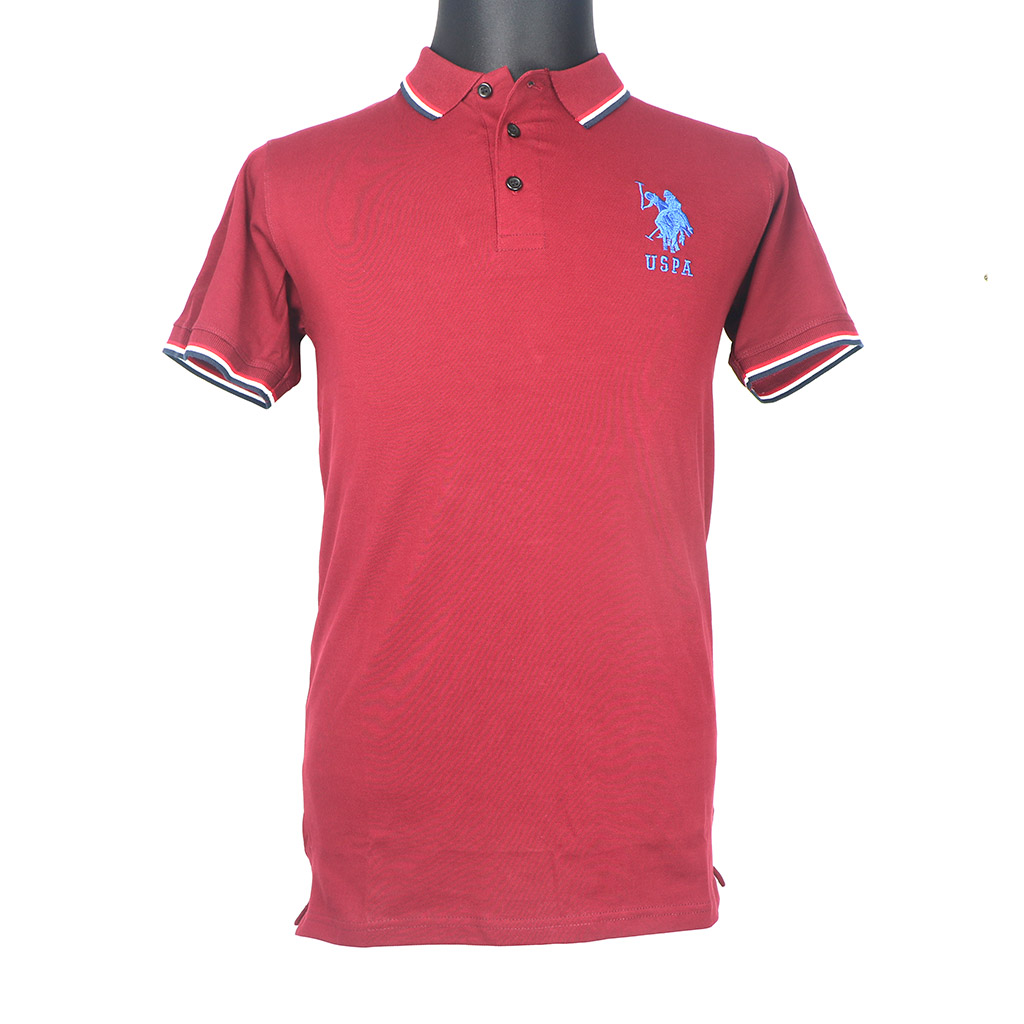 Men's Polo T-shirt - Maroon