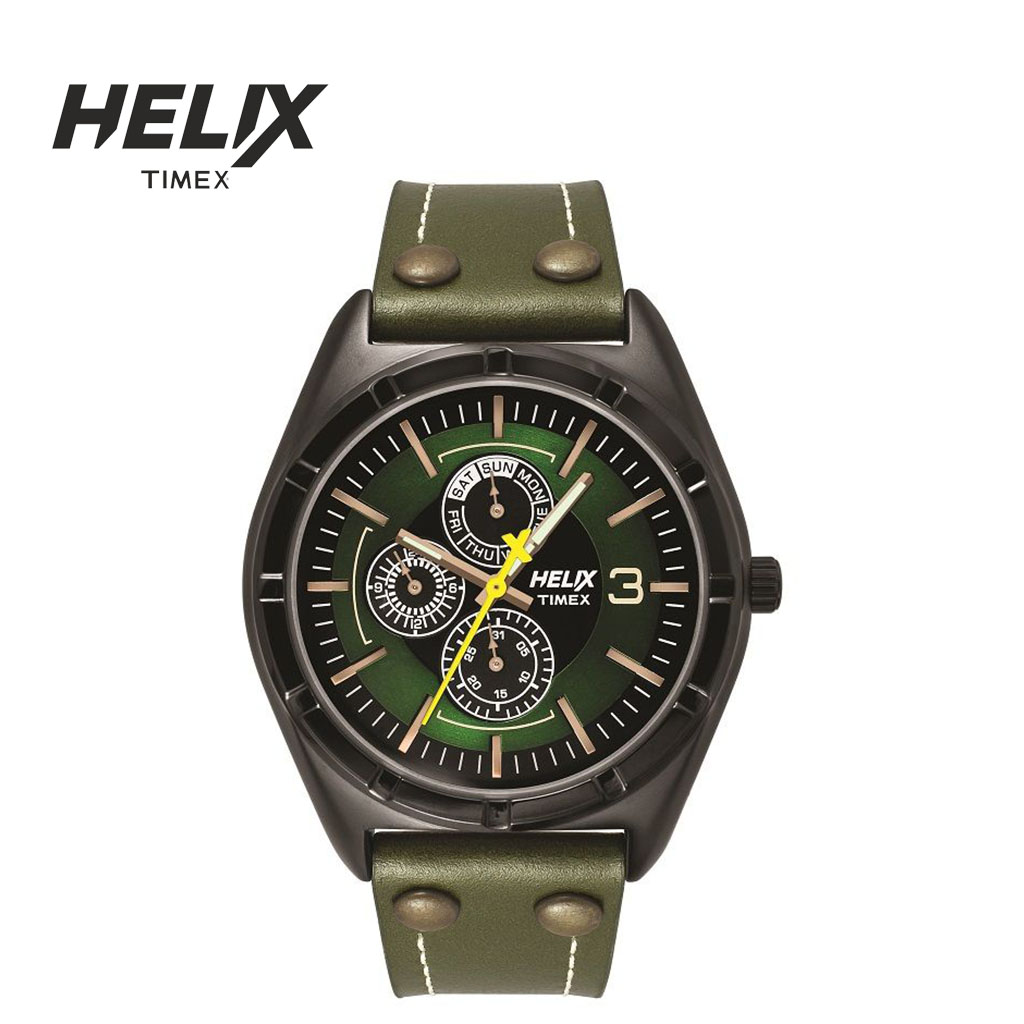 Helix Tw029hg14 By Timex Watch For Men