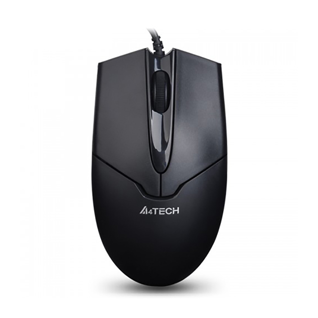 A4tech Op-550nu V-track Optical Mouse With 20% Faster Metal Feet