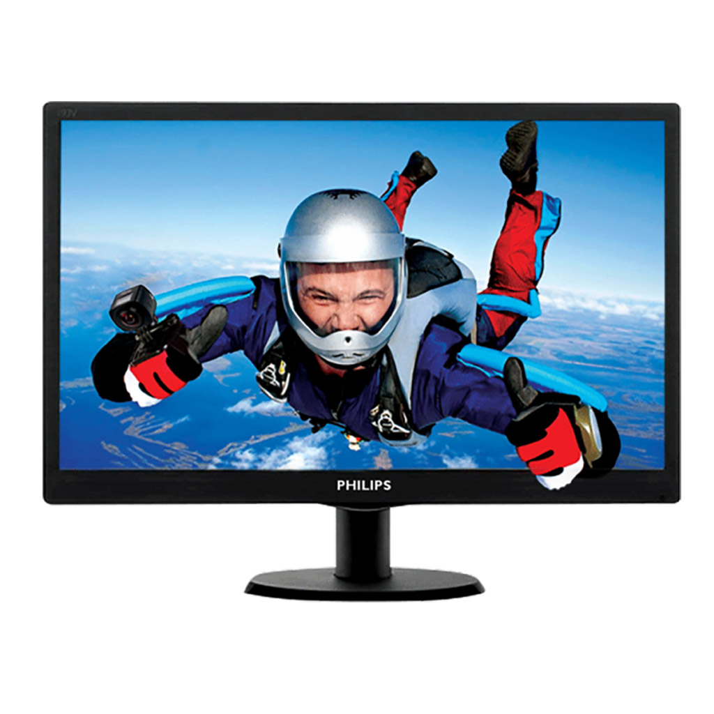Philips 193v5lhsb2 18.5 Inch Led Monitor With Hdmi Port