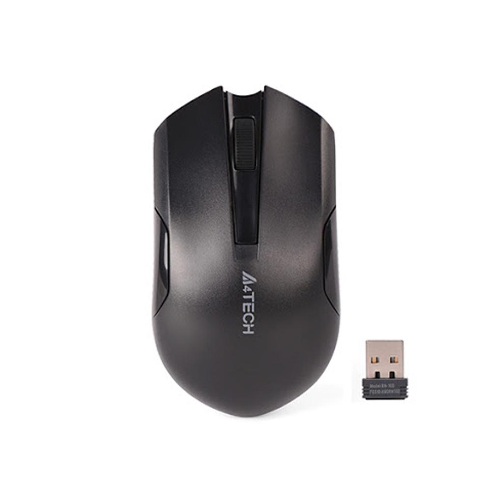 A4tech G3-200n Black 2.4g Range 15m Wireless Optical Mouse