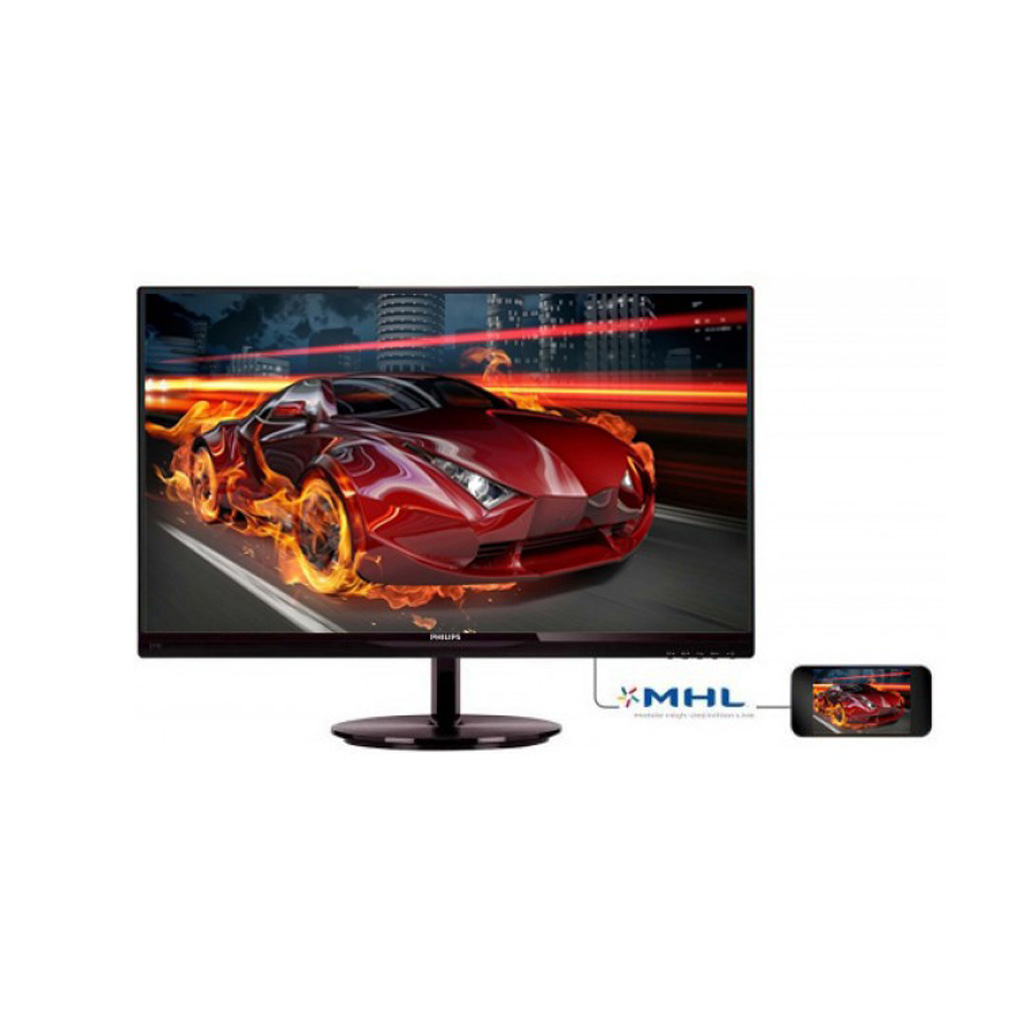 Philips 224e5qhsb 21.5 Inch Bezel Less Ah-ips Led Monitor With Hdmi & Mhl Port