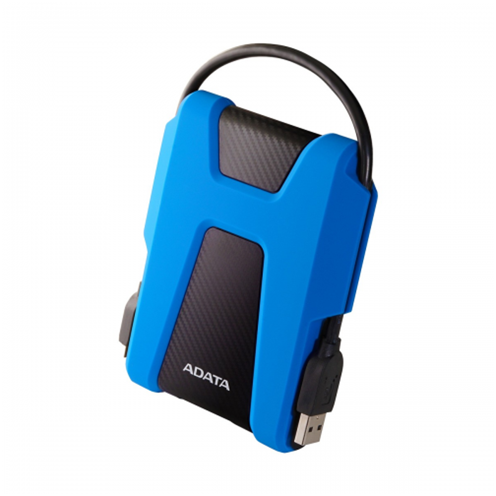 Adata Hd680 1tb Usb 3.1 External Hard Disk Drive (blue)