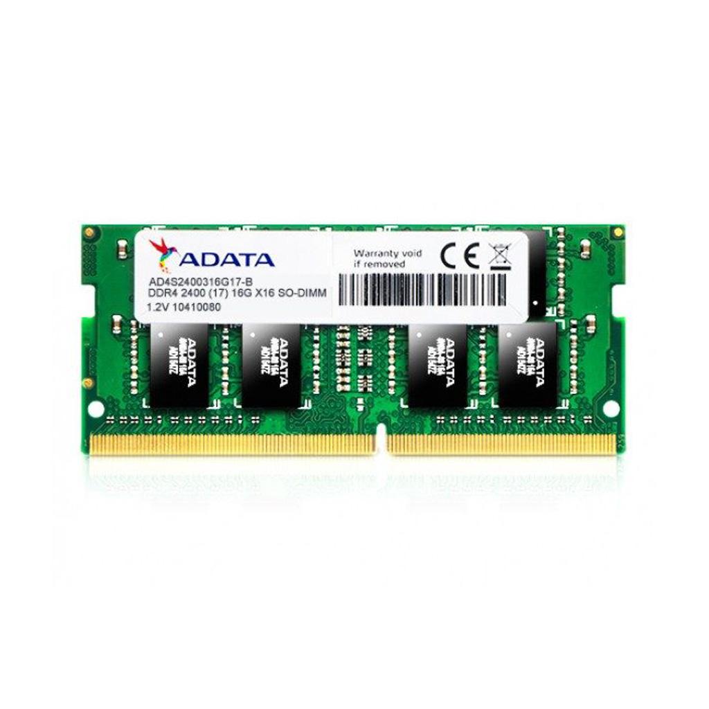 Adata 4gb Ddr4 2400 Bus (low Voltage) Laptop Ram