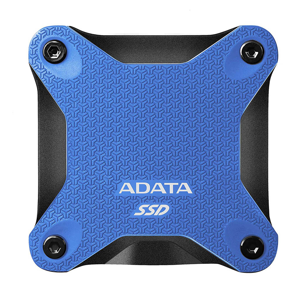 Adata Sd600q 480gb Usb 3.1 External Solid State Drive (blue)