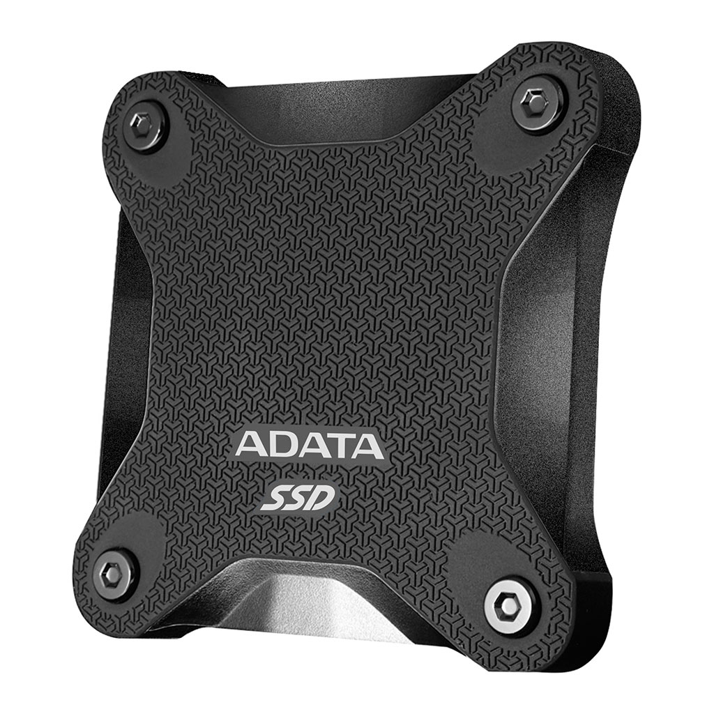 Adata Sd600q 480gb Usb 3.1 External Solid State Drive (black)