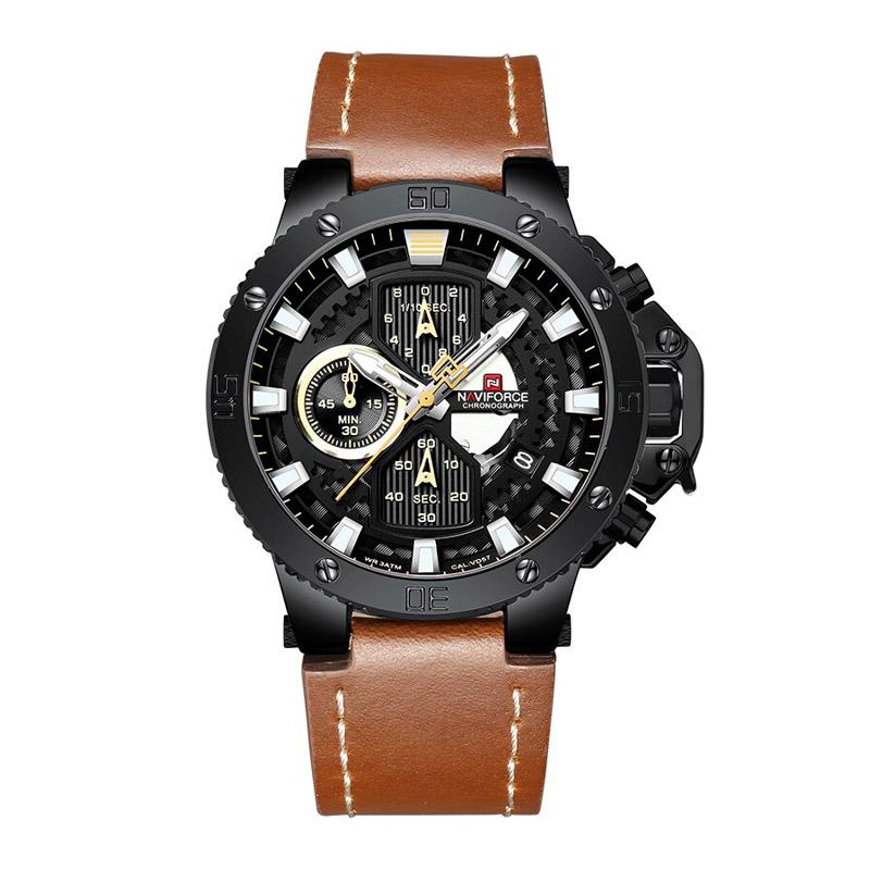 Naviforce Nf9159bybn Quartz Watch For Men