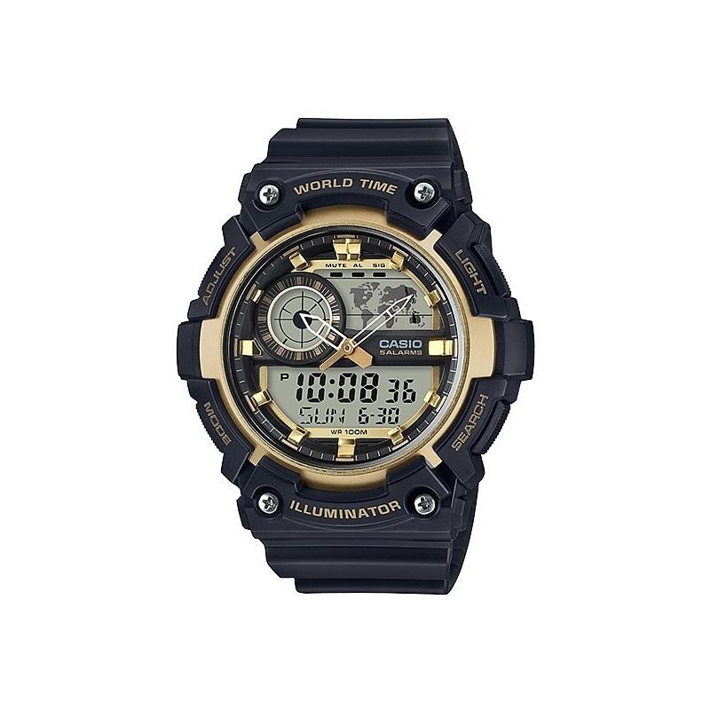 Casio World Time Watch (aeq-200w-9avdf)