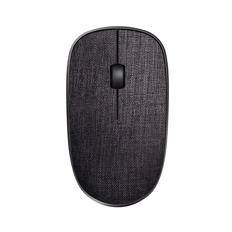 Rapoo 3510 Plus Wireless Fabric Mouse 10 Meter (black)