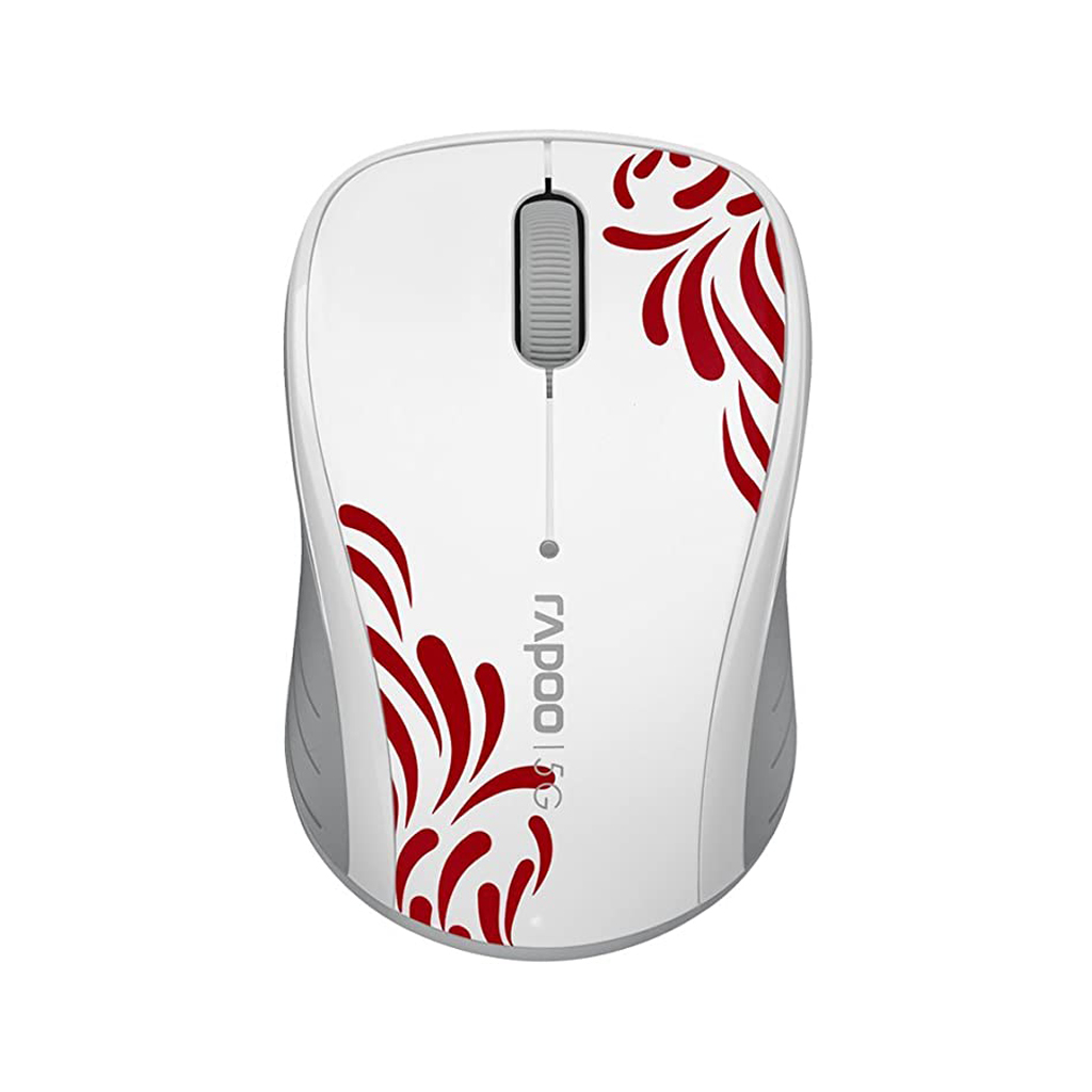 Rapoo 3100p 5g Wireless Optical Mouse 10 Meter (white)