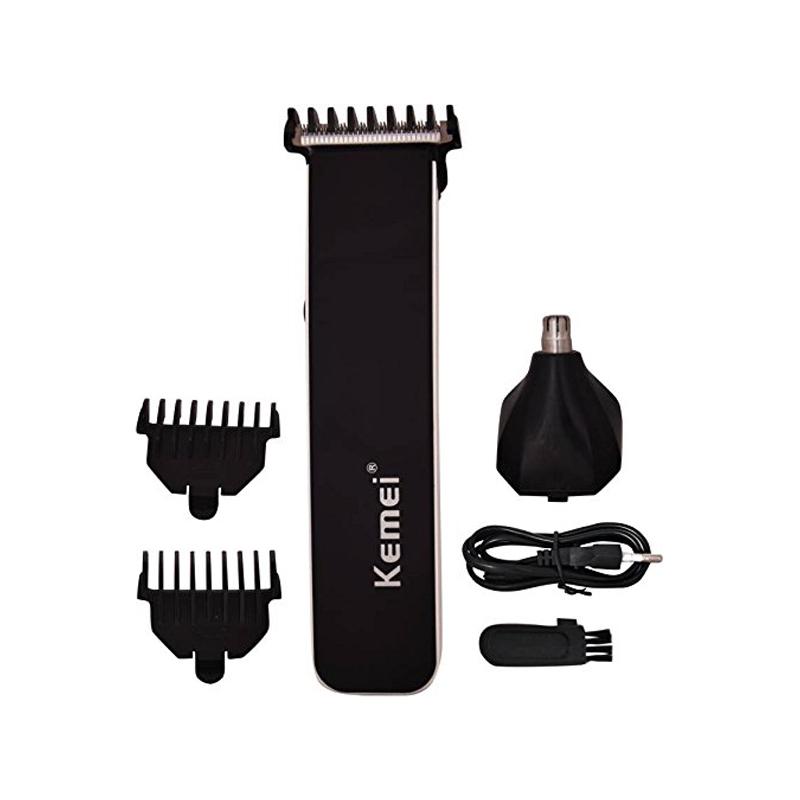 Kemei Km-3560 Ultra Power 2-in-1 Multi-purpose Hair, Beard, Shaver Trimmer Clipper For Men
