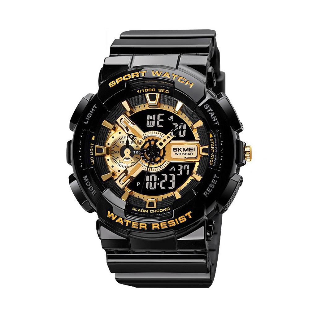 Skmei 1688gd Men & Women Digital Wrist Watch
