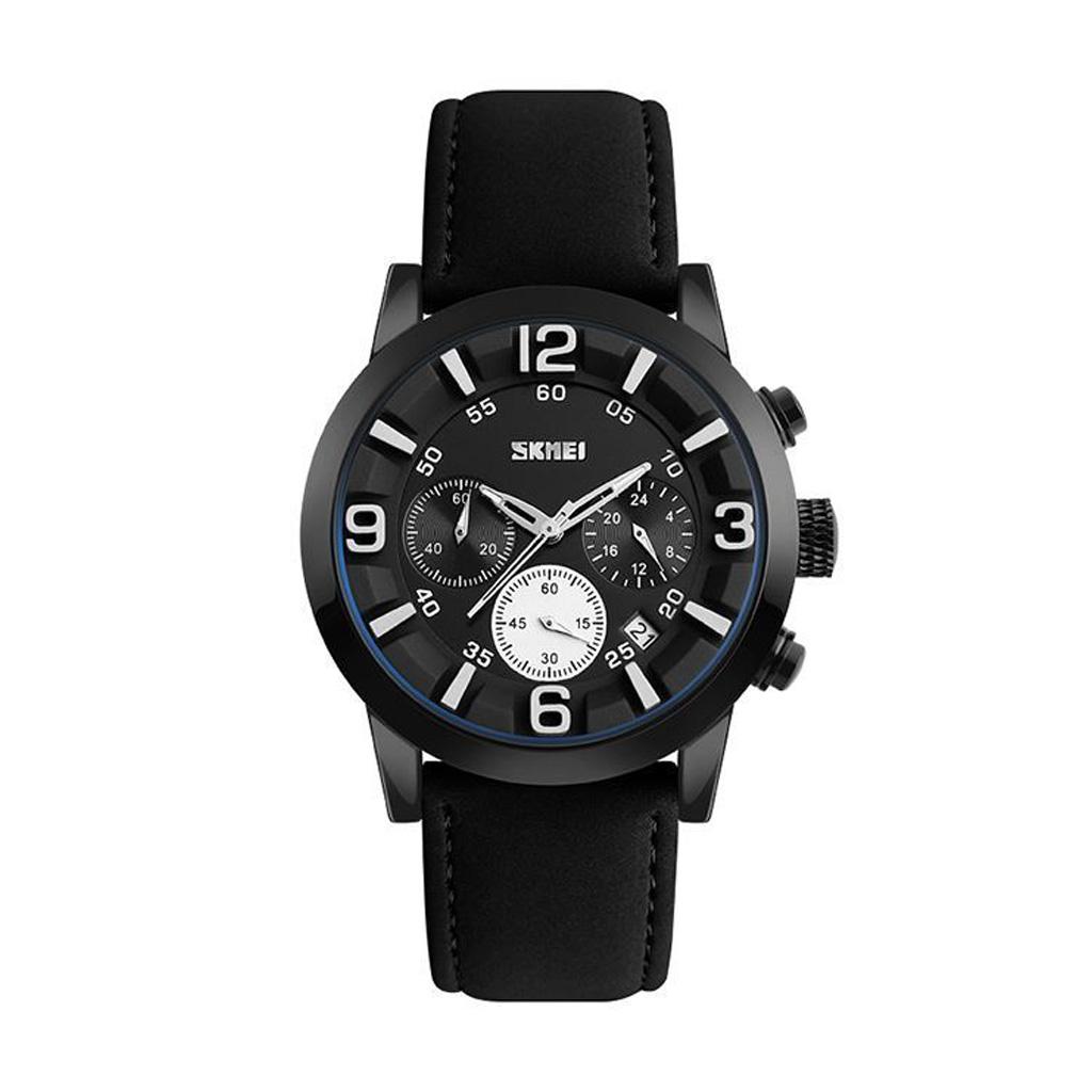 Skmei 9147bl Men Analog Wrist Watch