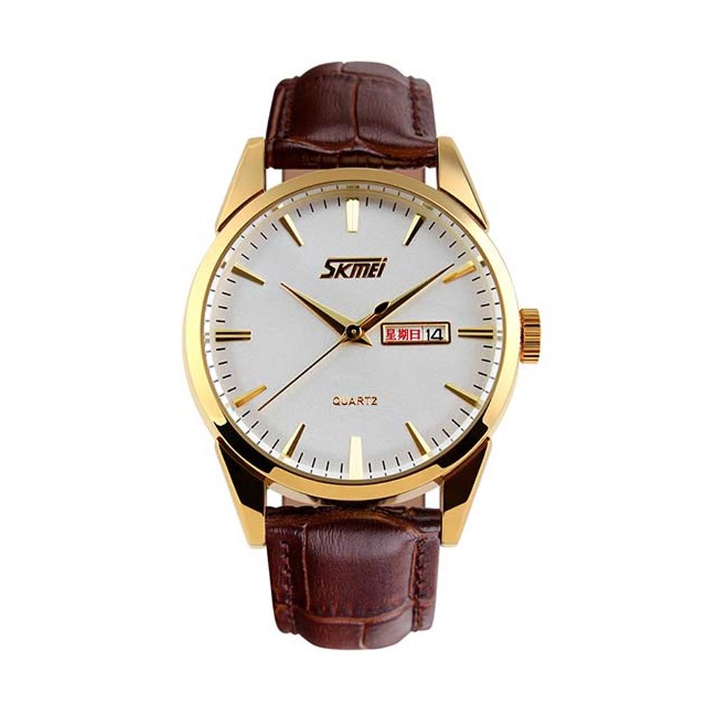 Skmei 9073gk Men Analog Wrist Watch