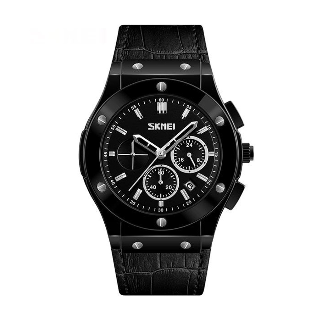 Skmei 9157bl Men Analog Wrist Watch