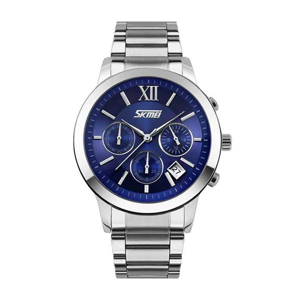 Skmei 9097bu Men Analog Wrist Watch