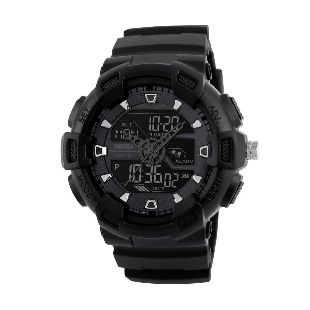 Skmei 1189bl Men Digital Wrist Watch