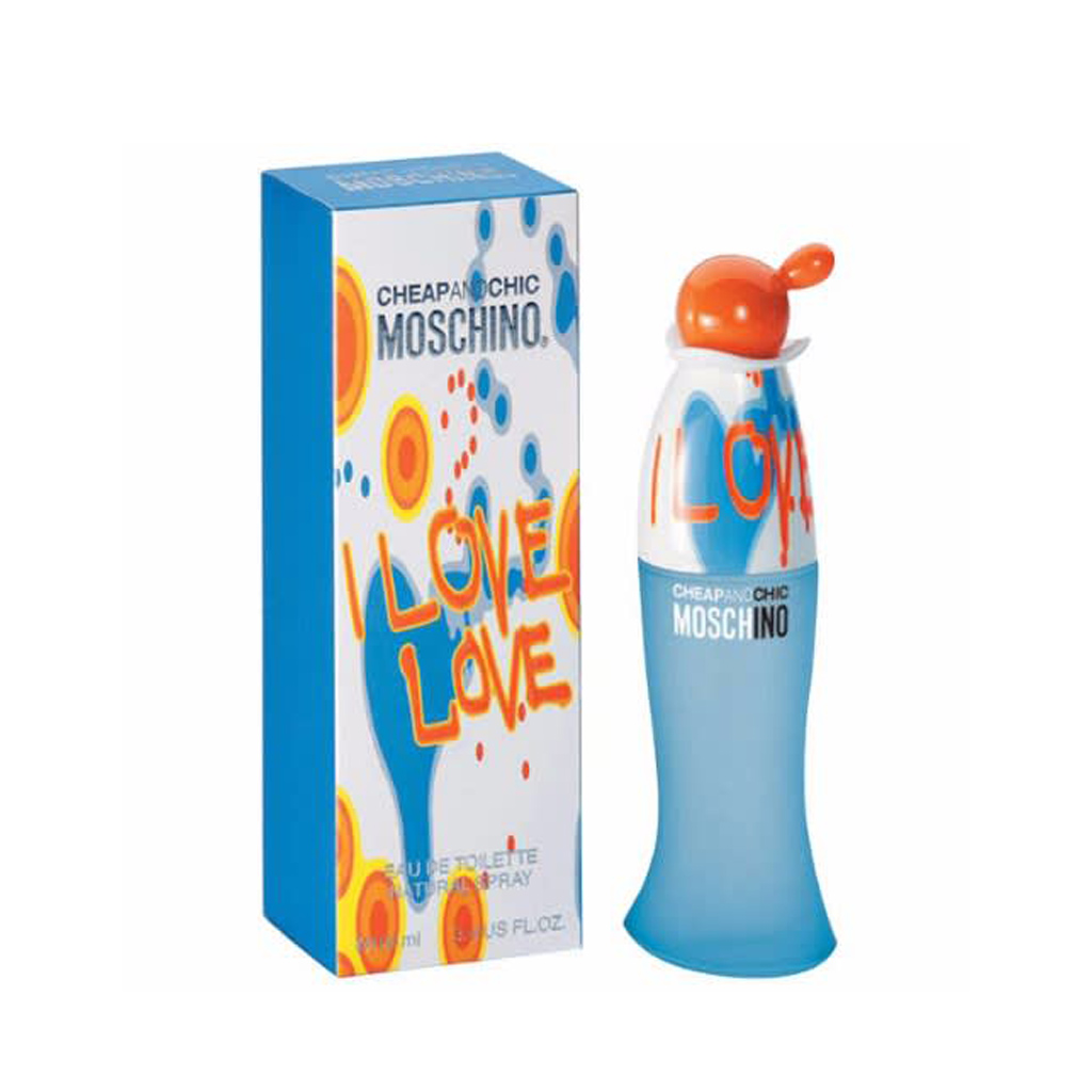 Moschino I Love Edt 100ml For Her