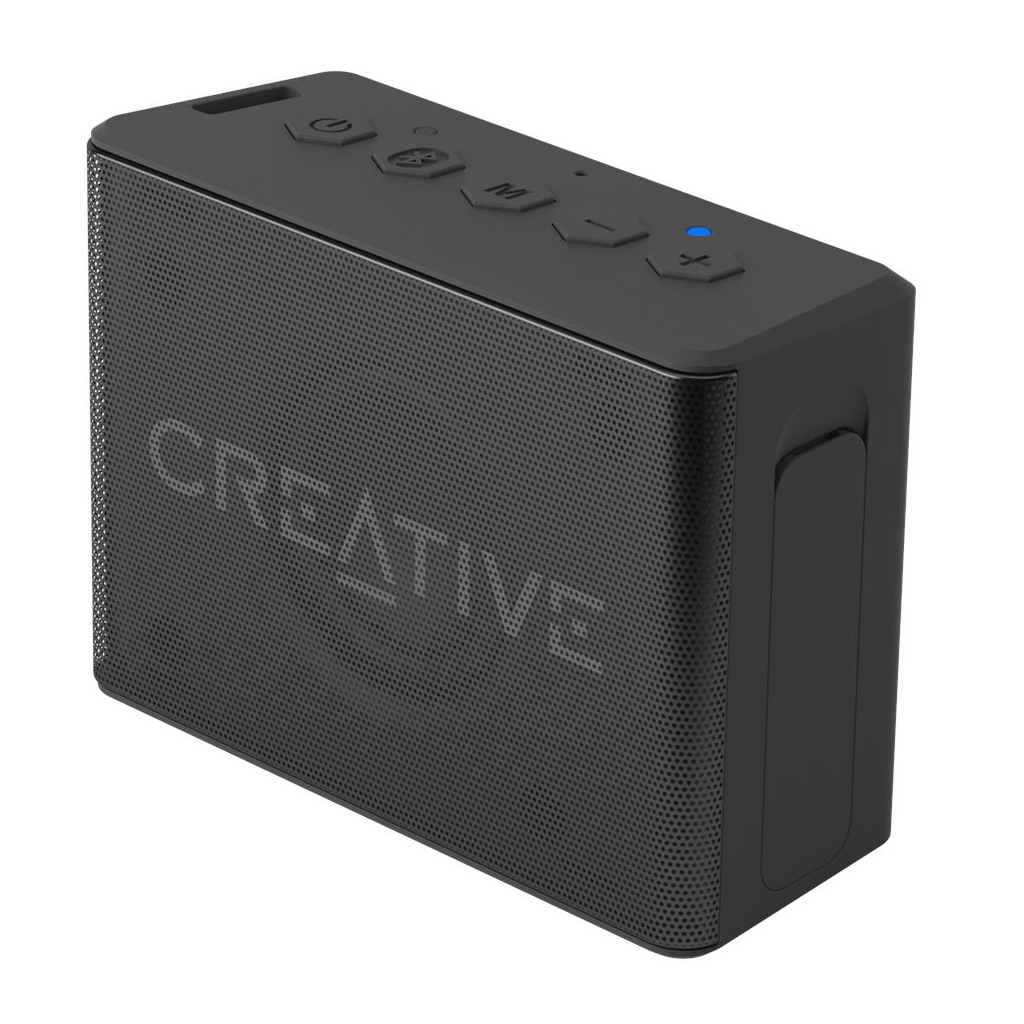 Creative Muvo 2c Water-resistant Bluetooth Speaker With Built-in Mp3 Player (black)