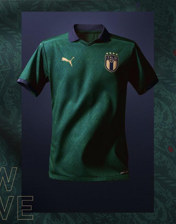 Italy Euro Away Kit 20-21 Prm Half