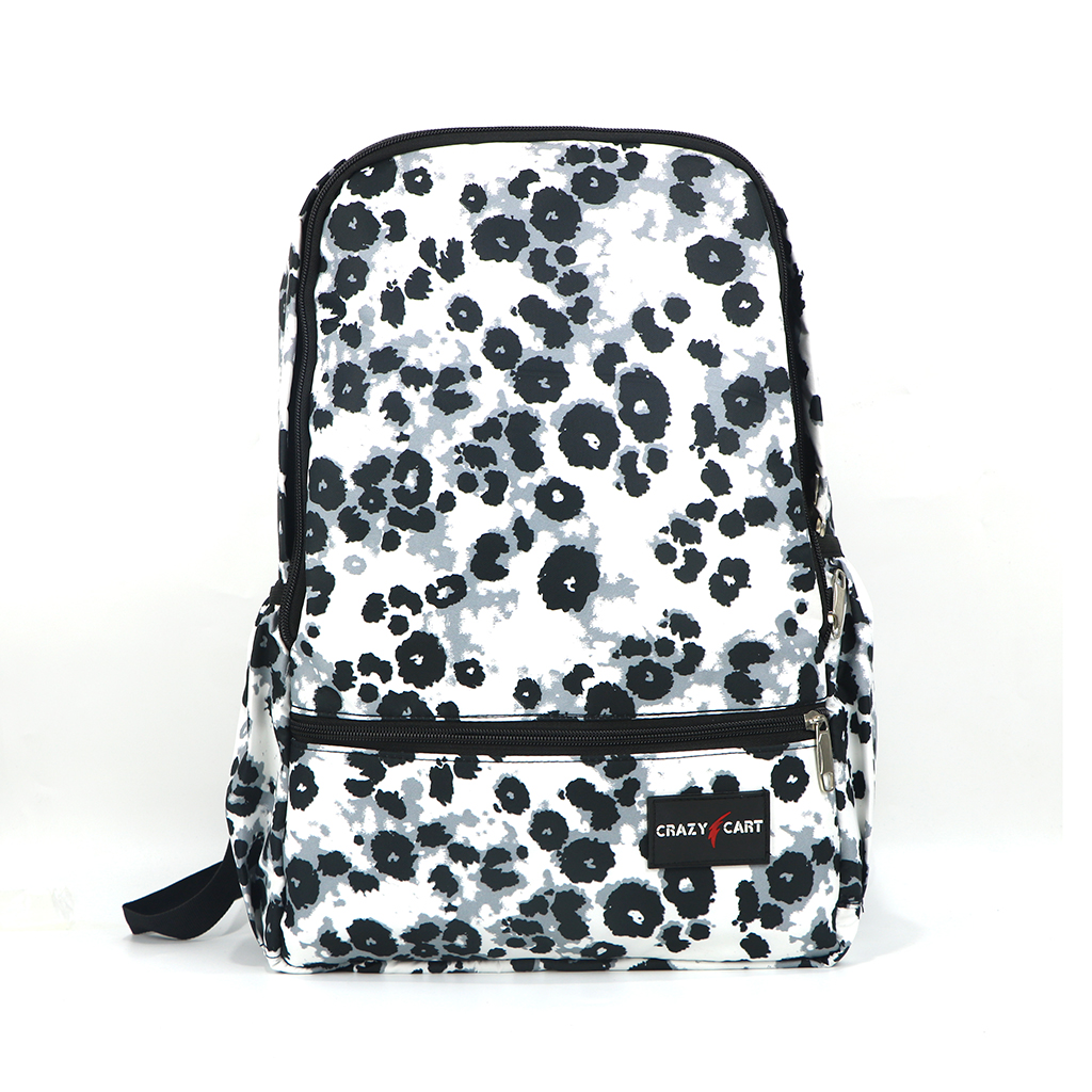 Crazy Cart Cotton Fabric Backpack (a-308wb)