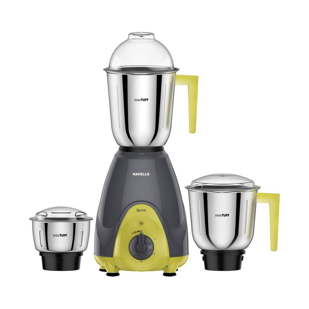 Havells Sprint 600w Mixer Grinder 3 Jar