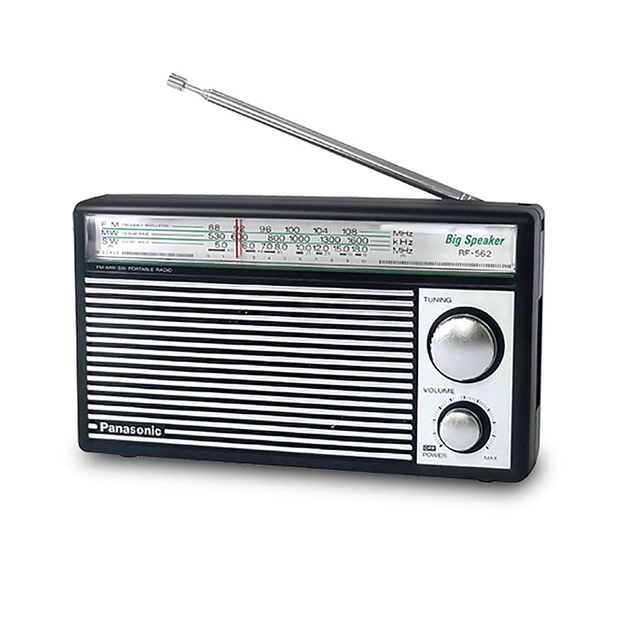 Panasonic Rf-562dd Fm/mw/sw 3-band Portable Radio