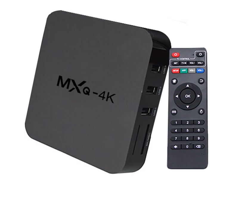 Mxq 4k Smart Android Tv Box