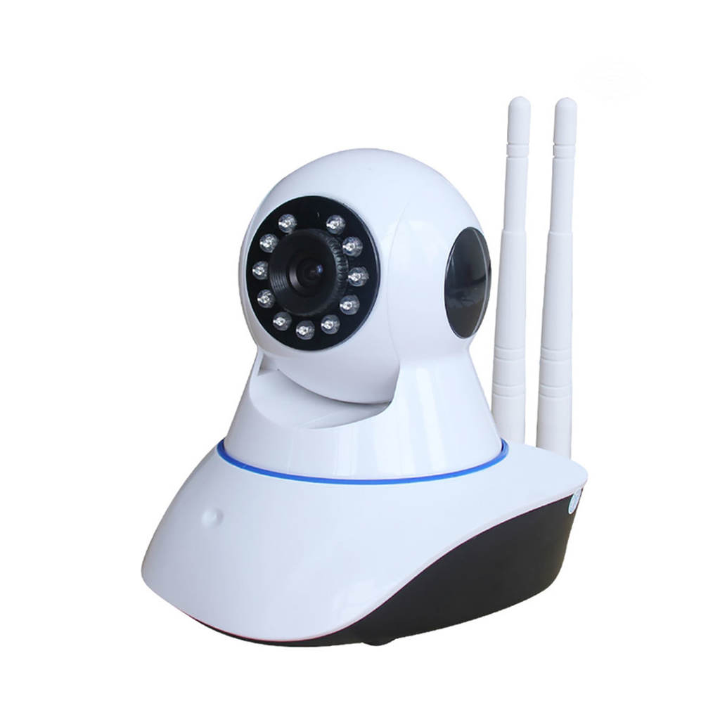 Wifi Ip Security Camera Double Antenna With Night Vision