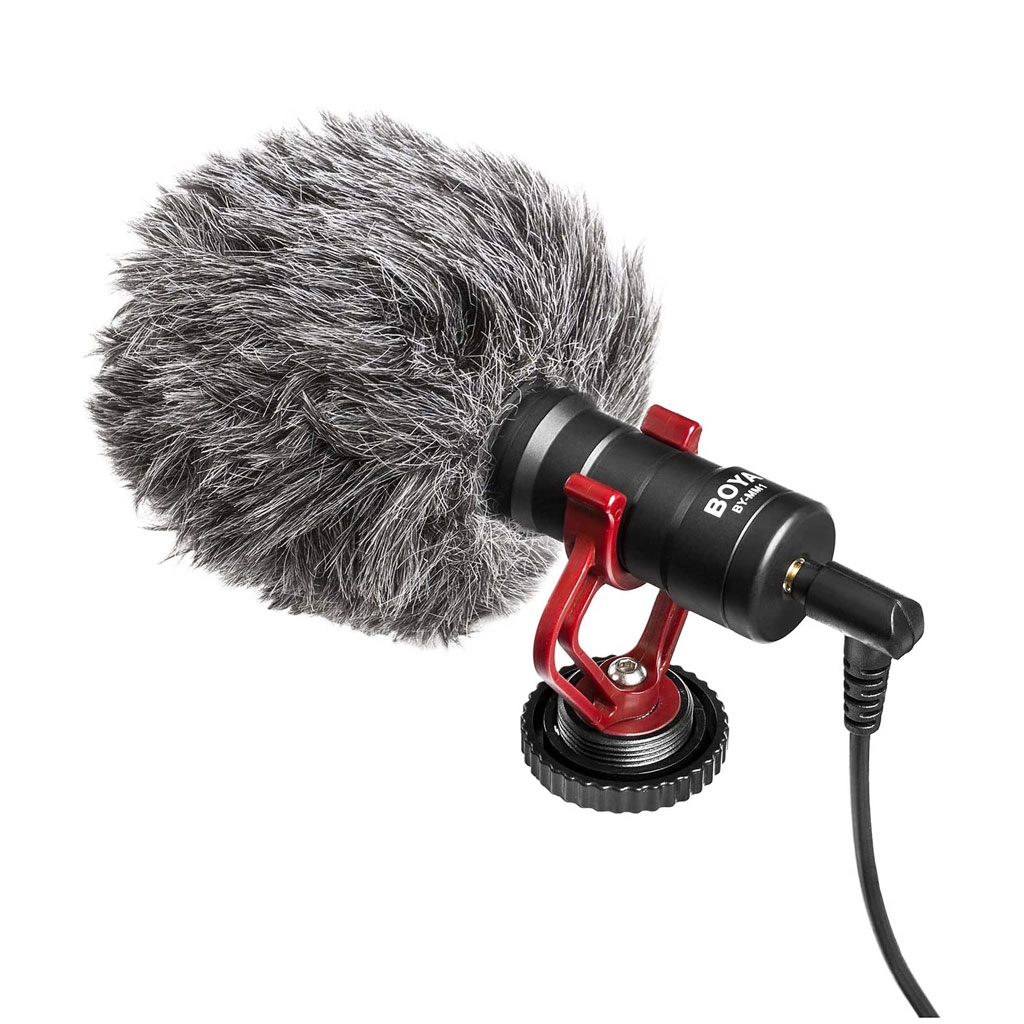 Boya Universal Cardioid Microphone For Smartphone Dslr And Video Camera