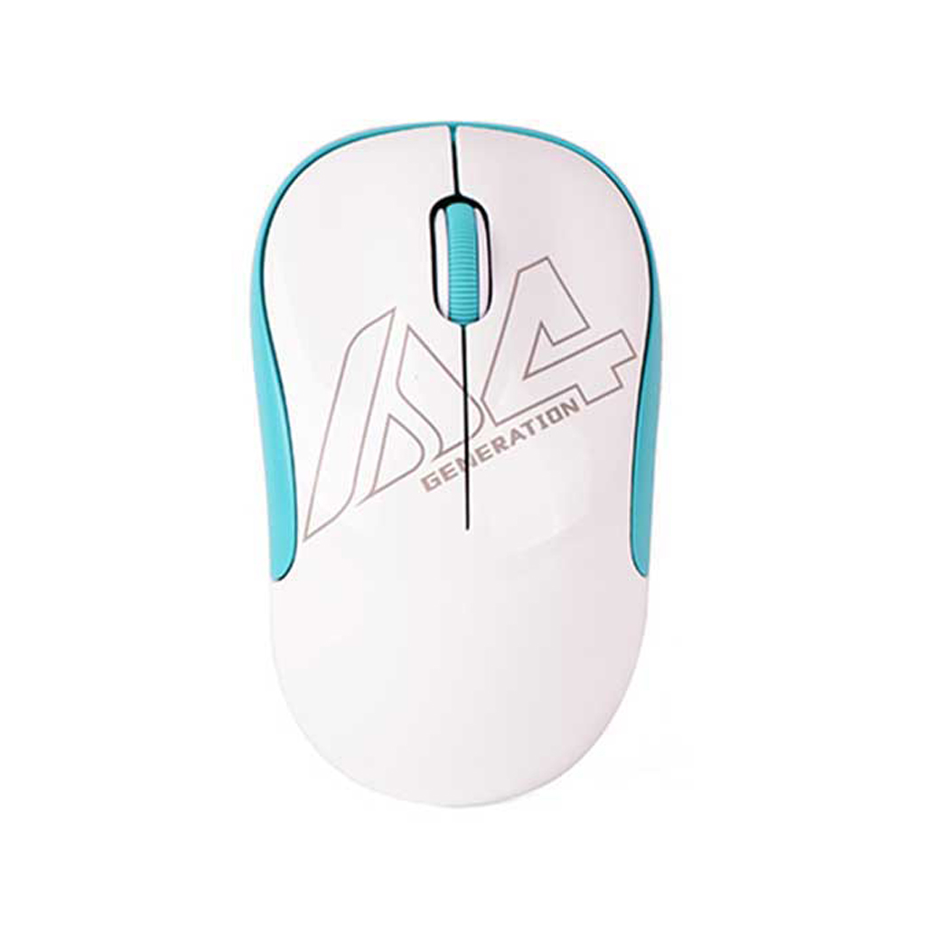 A4tech G3-300n V-track Wireless Mouse (white Blue)