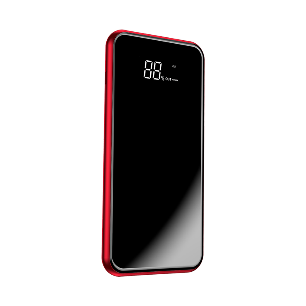 Baseus Full Screen Bracket 8000mah Wireless Charge Power Bank (red)