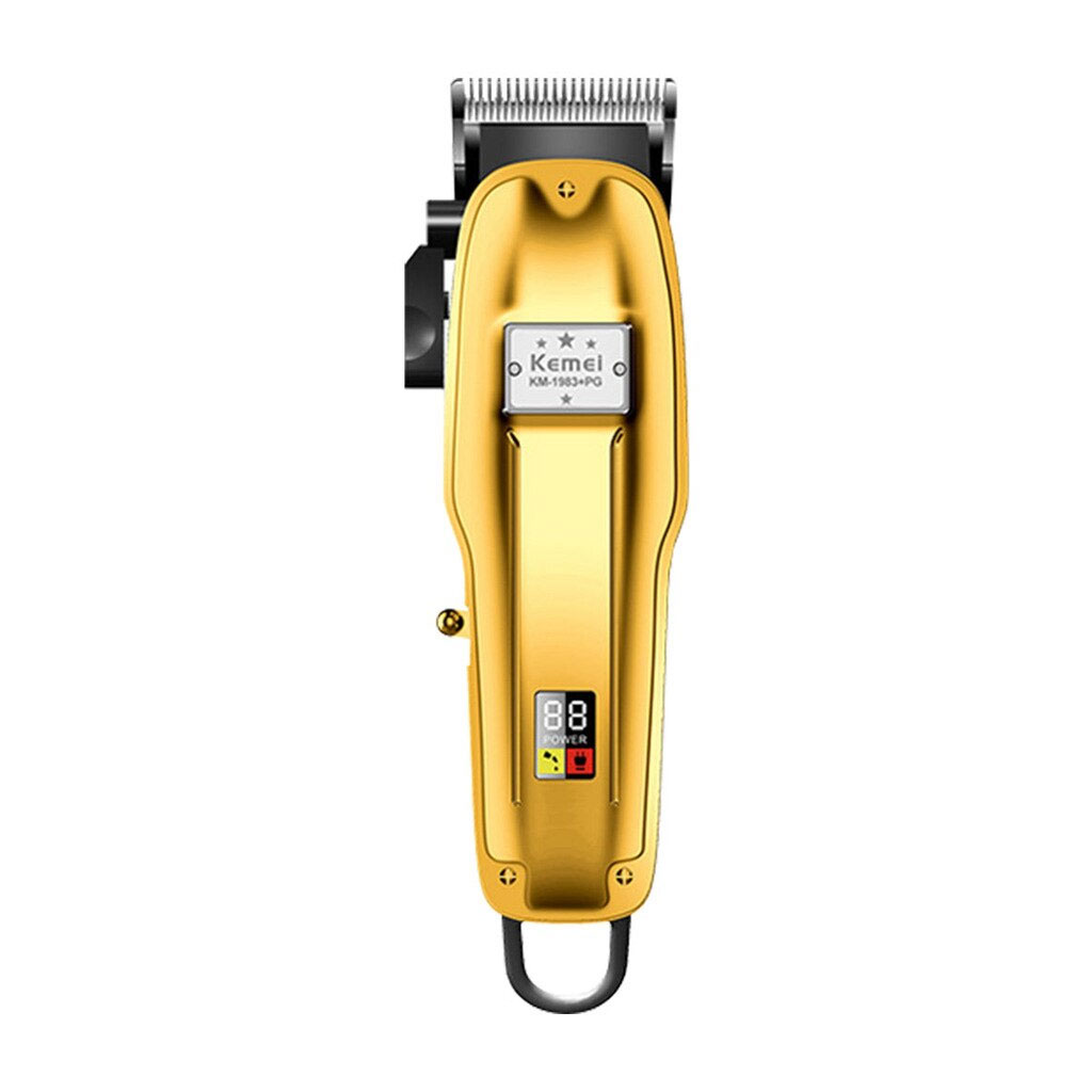 Kemei Km-1983 Pg Professional Hair Clipper With Led Display